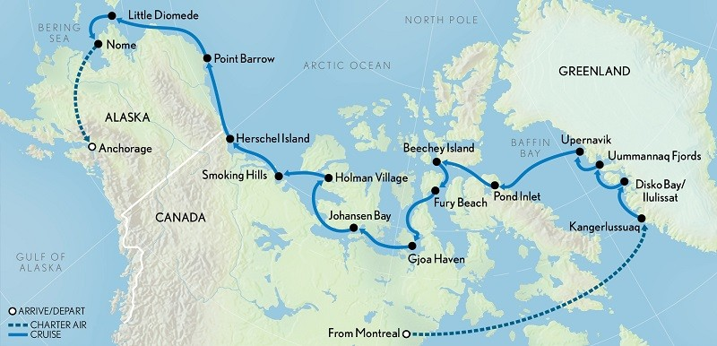 The Fabled Northwest Passage Expeditiontrips Com