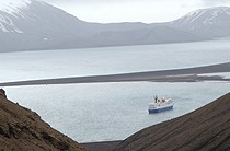View from Top of Deception Island