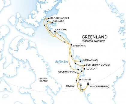 Greenland's Far North – Ultimate Thule Route Map